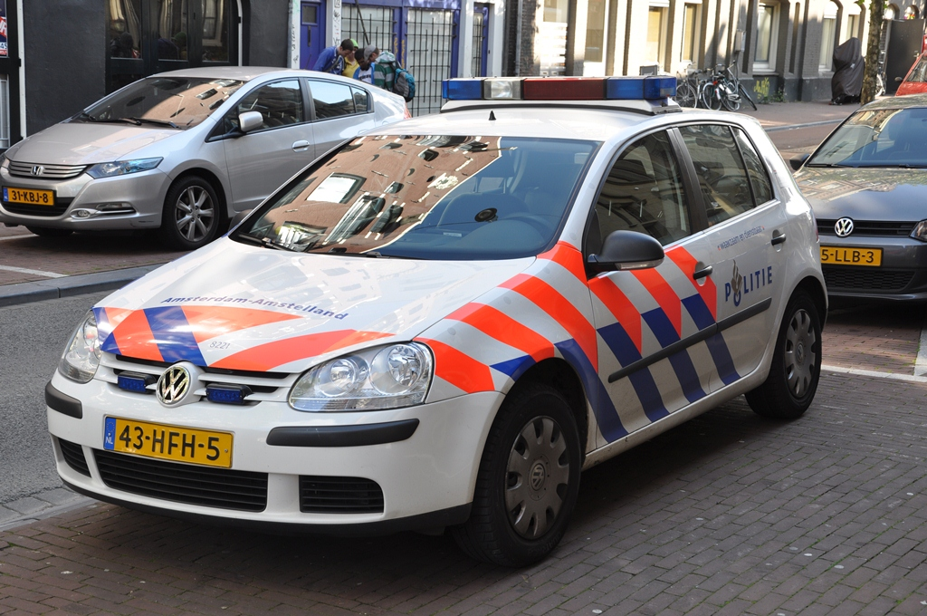 Police Car in Amsterdam