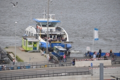 The Harbor Ferry as seen from the Ibis Hotel
