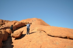 Kevin on Ayers Rock