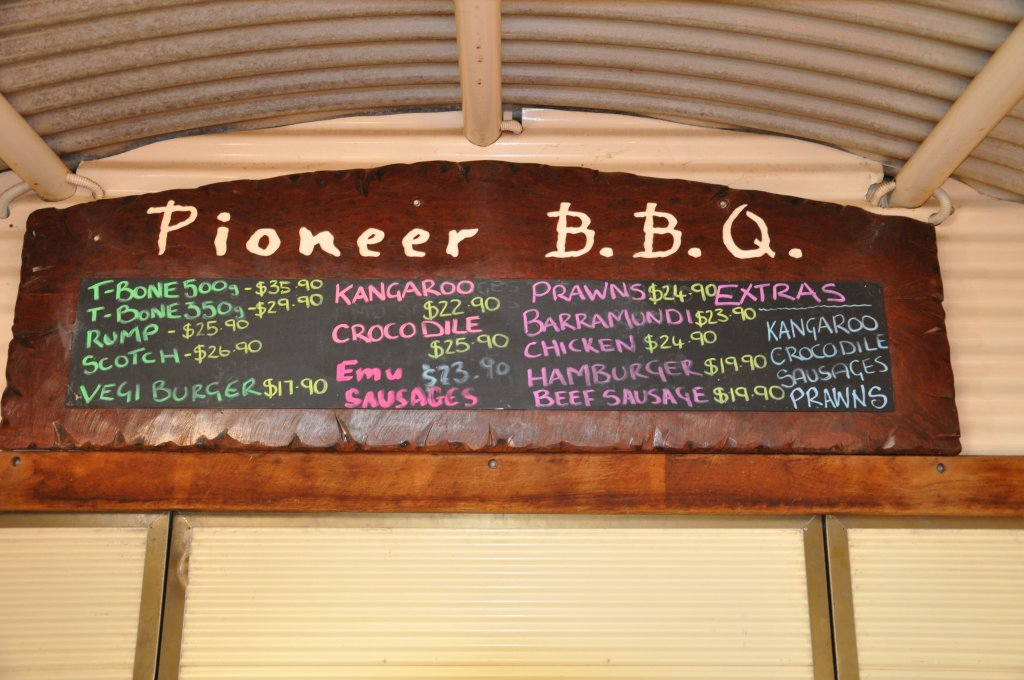 Grill it yourself at the Outback Pioneer Lodge