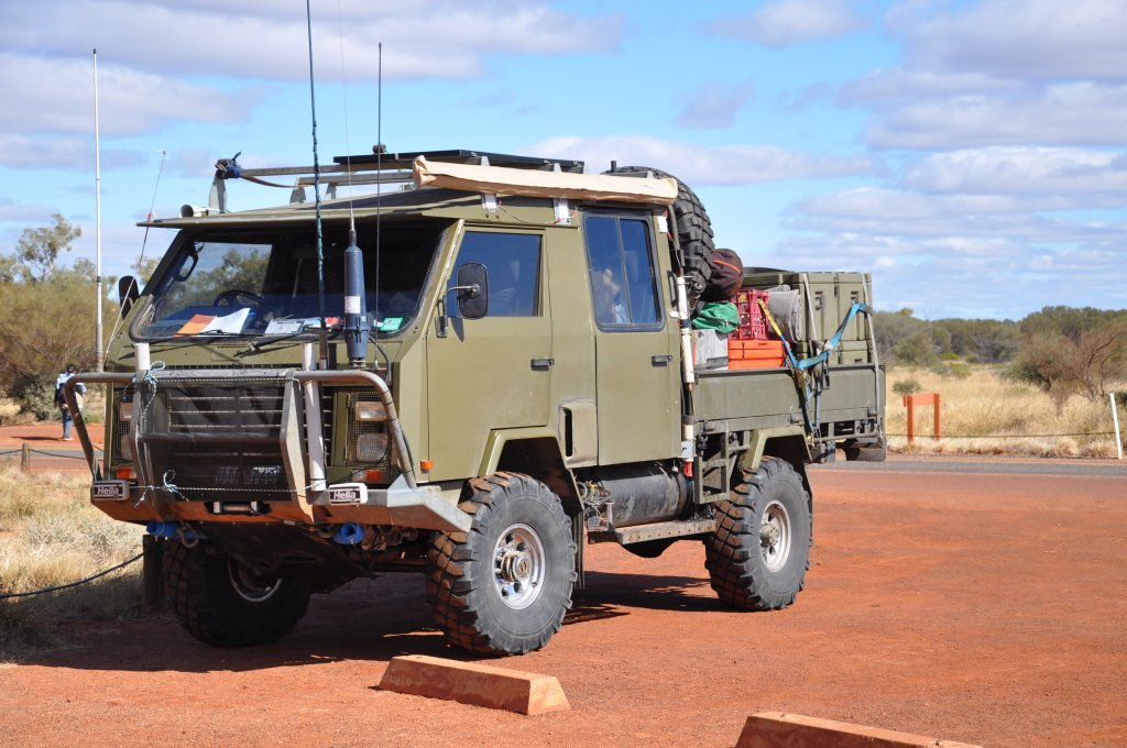 Outback Vehicle