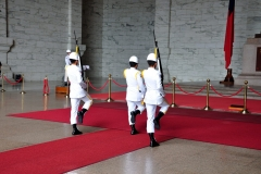 Chiang Kia-Shek Memorial changing of the Guard 1