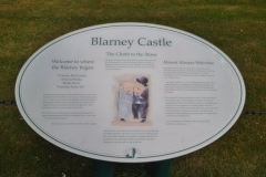 Blarney Castle sign