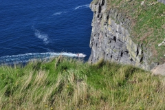 Boat at The Cliffs of Moher