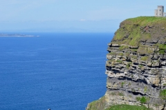 Cliffs and Aran Islands