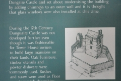 Dunguaire Castle sign