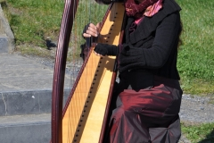 Cliffs of Moher Harp Lady
