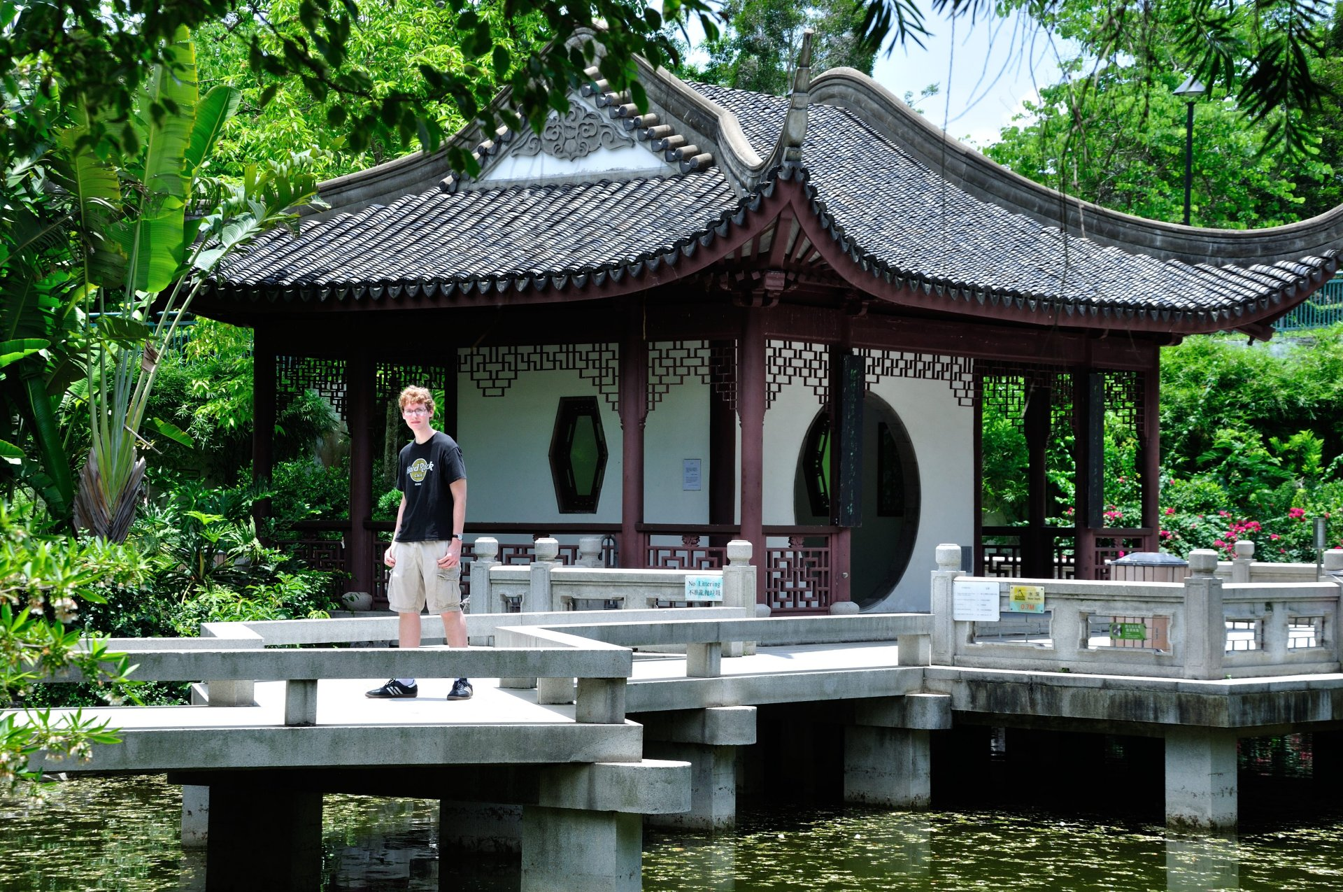 Kevin in Kowloon Walled City Park