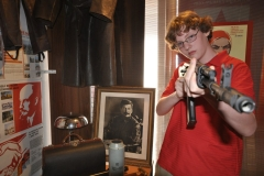 Kevin at the KGB Museum