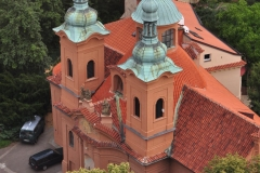View from the Petrin Hill & Observation Tower in Prague 3