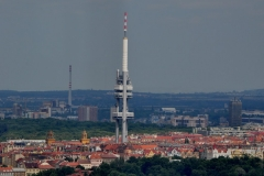 View from the Petrin Hill & Observation Tower in Prague