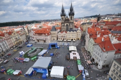 View from the top of the Astronomical Clock 4
