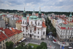 View from the top of the Astronomical Clock 5