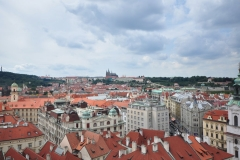 View from the top of the Astronomical Clock 6