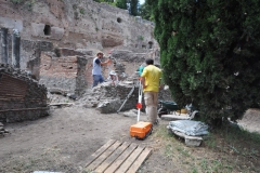 Archaeological excavations @ The Roman Forum 2