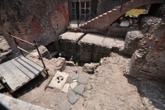 Archaeological excavations @ The Roman Forum 4