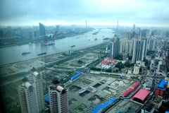 Construction along the Huangpu River