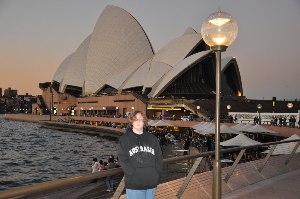 Kevin at the Opera House 1