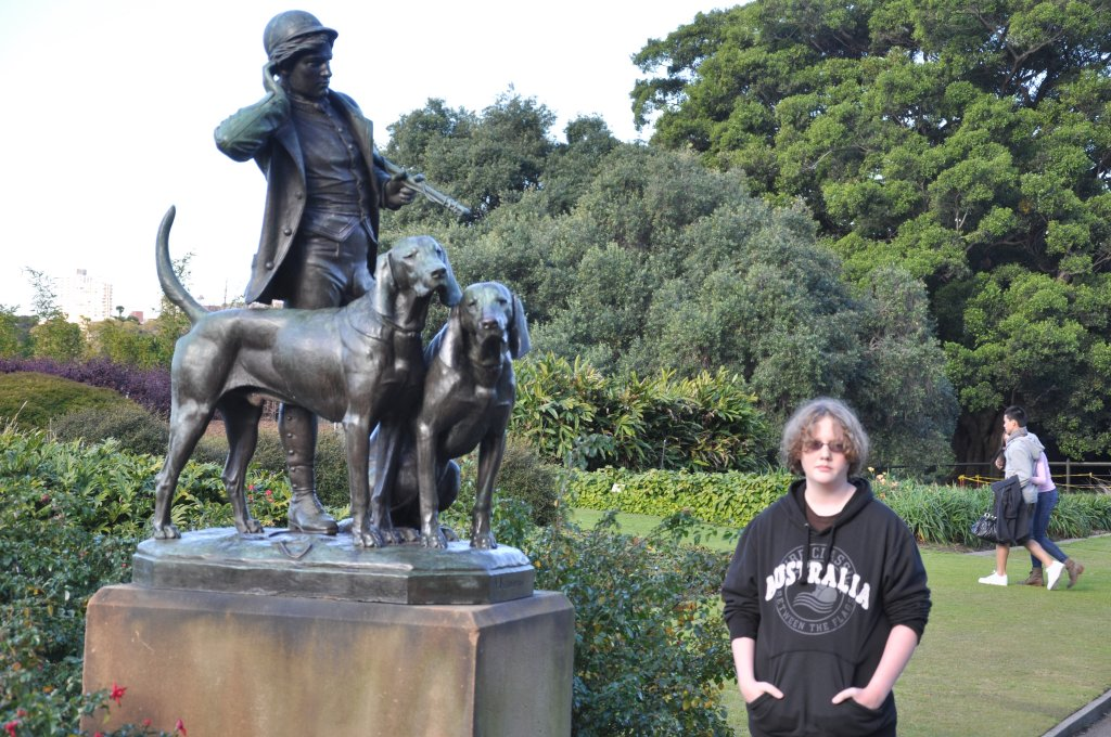 Kevin in the  Park in Sydney