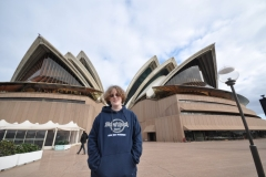 Kevin at the Opera House